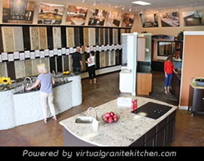 Virtual Granite Kitchen